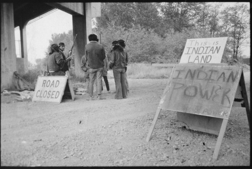 Native American protest, 1971