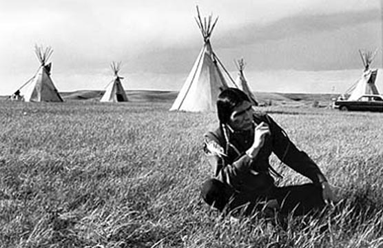 Dennis Banks in the 1970s. CreditPhotograph by Michelle Vignes/The Bancroft Library/University of California, Berkeley.