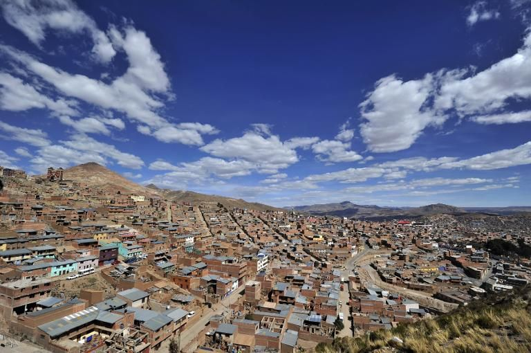 Hundreds of human skeletons found in Bolivian mining city