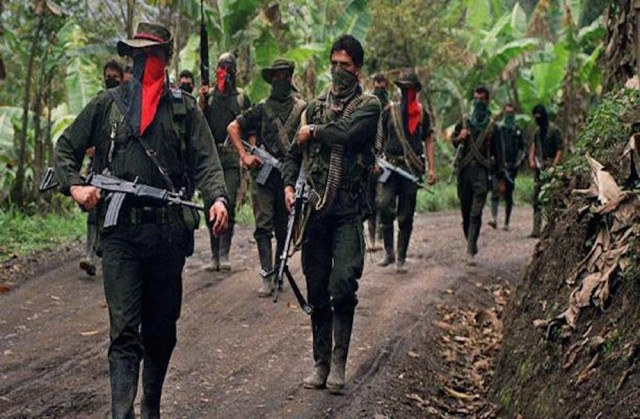 Members of the National Liberation Army (ELN) in February, 2000. (AFP/Getty Images)