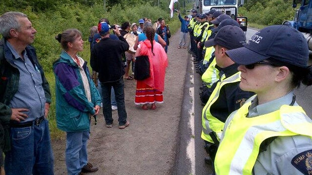 New Brunswick RCMP report more protests, fewer road deaths