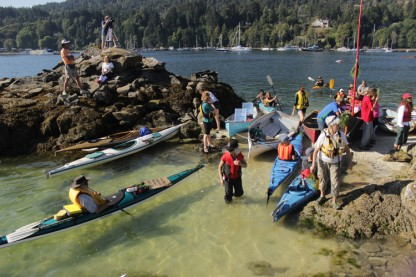 Paddlers will, once again, take to the water around Grace Islet on Wednesday morning.