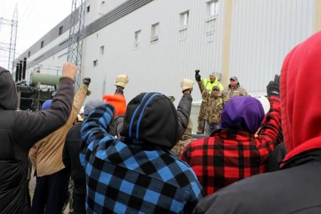 IdleNoMore4 Power to Pimicikamak. Photo: Tyler Adam Turcotte\Twitter