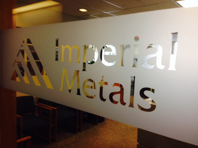 Protestors gather at Imperial Metals Vancouver office to support Red Chris Mine blockade