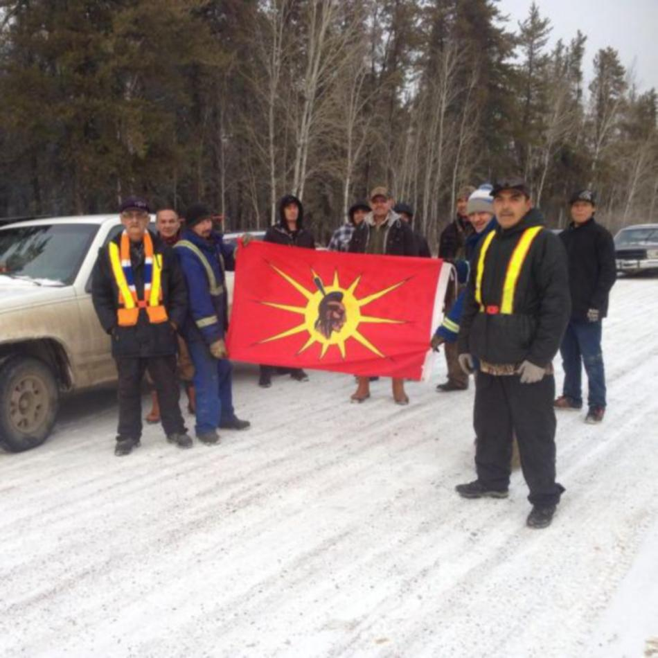 Northern Trappers Alliance Blockade Highway to Preserve Way of Life