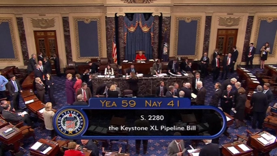Native American protesters arrested as Keystone XL Vote Fails