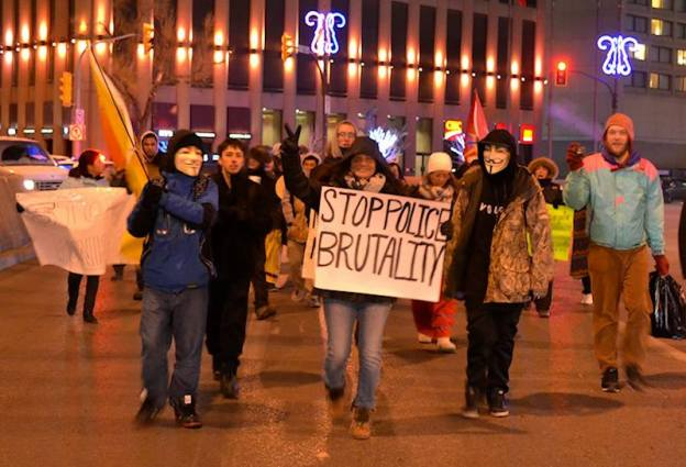 Rally for Lana A. Sinclair To End Police Brutality. Photo: Michael-Yellowwing Kannon/Facebook