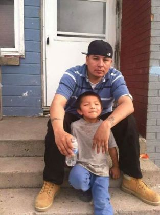 Alan Locke was shot by RCPD cop in Lakota homes. Photo: Facebook