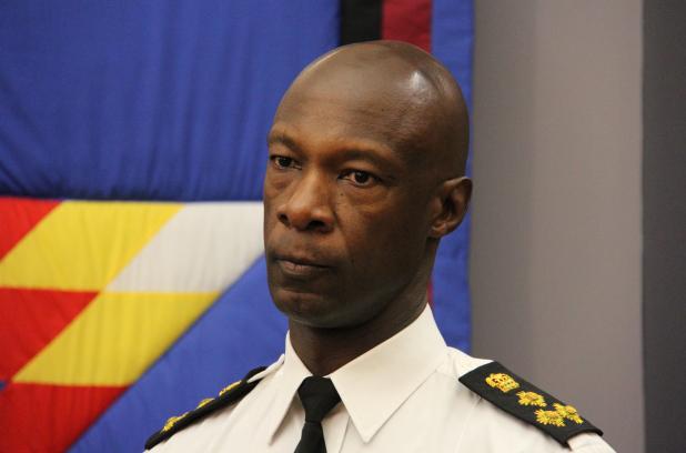 Winnipeg Police Chief Devon Cunis