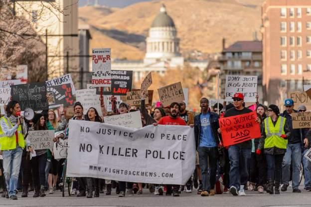 Ferguson Rally in Salt Lake City