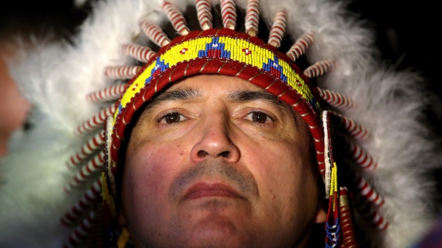 Perry Bellegarde was elected to head the Assembly of First Nations in December after his predecessor, Shawn Atleo, resigned in May over allegations that he was too close to the Harper government. (Trevor Hagan/Canadian Press)