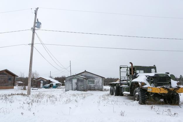 Descharme Lake, a tiny Dene community in northern Saskatchewan