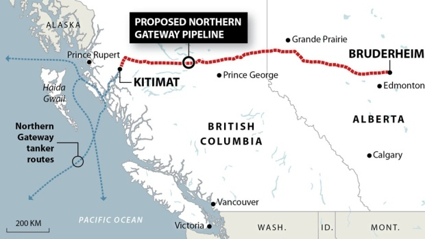 Enbridge is being very quiet about the Northern Gateway pipeline project. (Canadian Press)