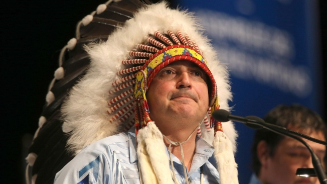 Assembly of First Nations National Chief Perry Bellegarde
