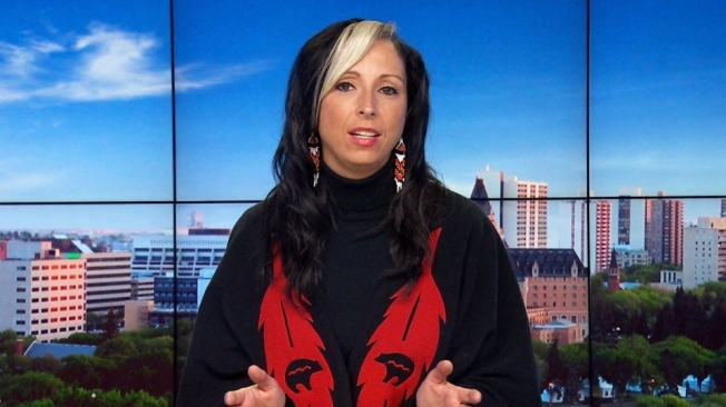 First Nations activist and Ryerson University professor Pam Palmater speaks to CTV's Question Period about Bill C-51, the government's anti-terror bill, on March 22, 2015.