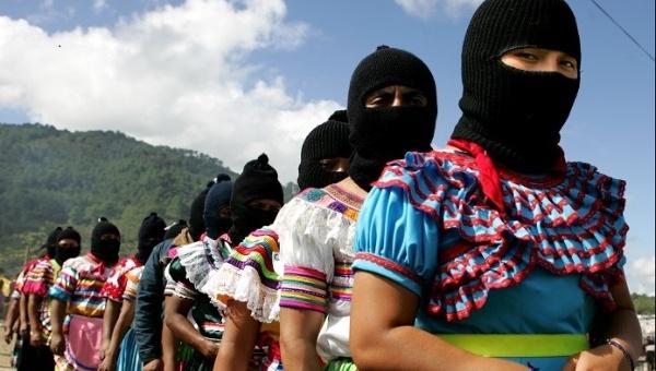 "Zapatista women at the ""Comandanta Ramona"" Women's Gathering in La Garrucha, Chiapas, December 31, 2007 | Photo: Tim Russo"
