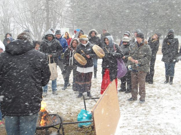 Justice and Vigil for Cindy Gladue Treaty 1 Solidarity Action