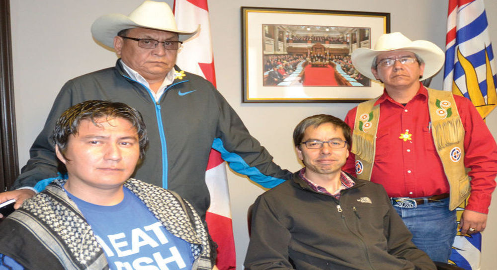 First Nations Chiefs End Occupation Of Christy Clark's Office