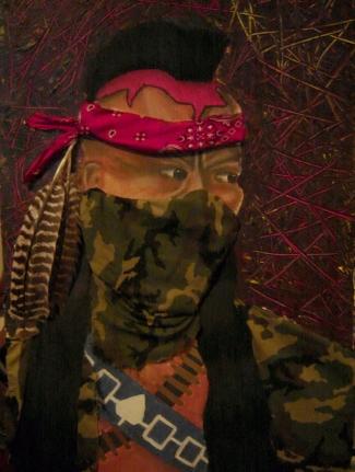 Painting And Drawing 1 (Oka Crisis Mohawk Warrior) By Akokatssini (Steven J. Black Weasel) On deviantART