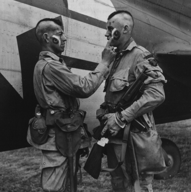 Paratroopers of the 101st Airborne Division in 1944