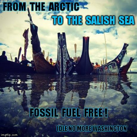 dle No More ~ From the Arctic to the Salish Sea. Photo: Facebook