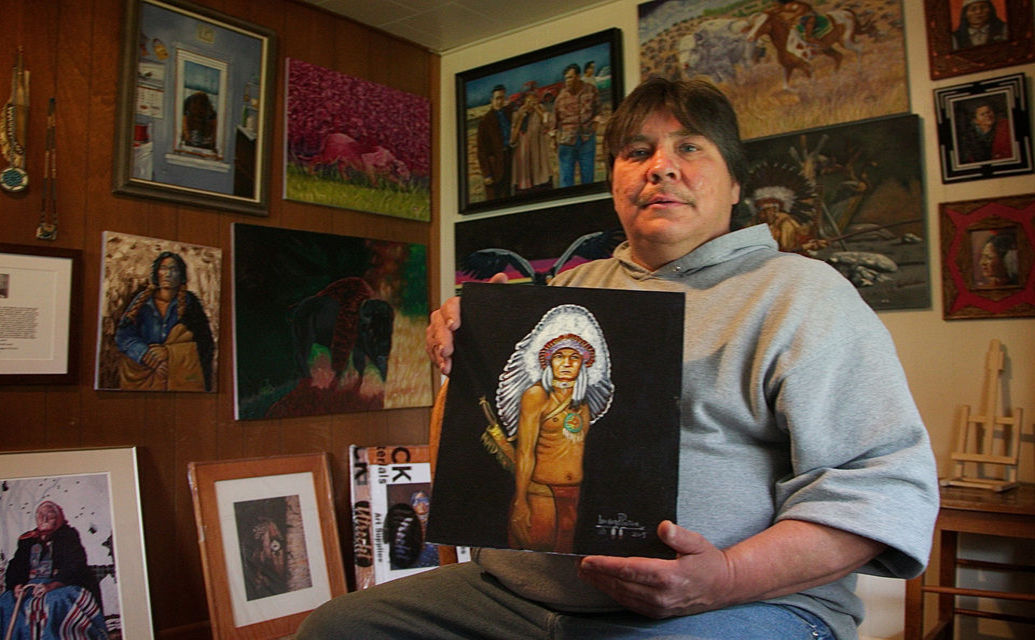 Longtime Prisoner Leonard Peltier Gets New Ally, His Son, In Fight For Freedom (Photos)