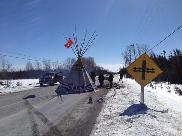 'Under this legislation, Mohawk protesters who blocked the 401 would be branded as terrorists,' says Doug Cuthand. (Frédéric Pepin, CBC/Radio-Canada)