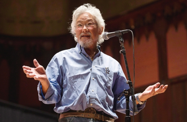 Academic, author and activist David Suzuki. Photograph by: Mark Blinch , THE CANADIAN PRESS