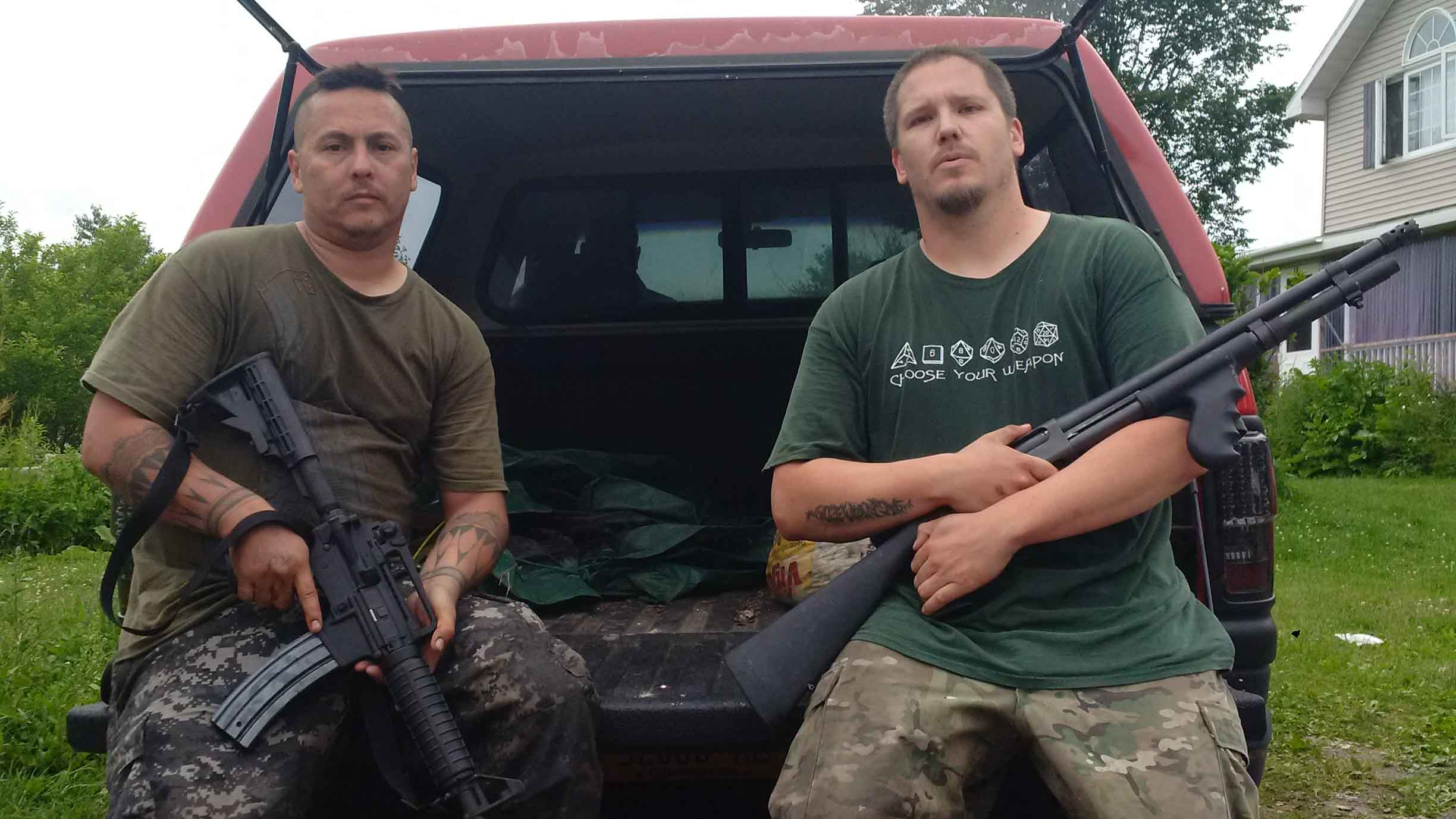 Land Defenders Keeping Armed Watch Over Akwesasne As NY State Manhunt Continues