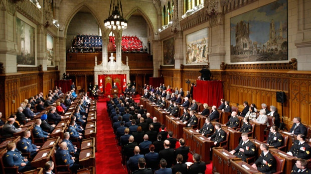 the Senate is seen in this file photo from Thursday, Nov. 24, 2011. (Adrian Wyld / THE CANADIAN PRESS)