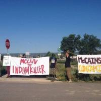 McCain Chased Off Reservation By Pissed-Off Navajo Activists (VIDEO)