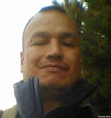 """Paul Castaway, Lakota Native victim of police shooting July 12, 2015. His mother said this photo was taken """"in happier times."""" (Courtesy/Lynn Eagle Feather)"""