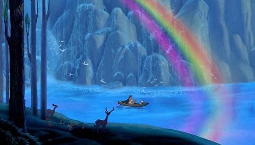 Still from Walt Disney's 'Pocahontas' Source: Disney Junior/Getty Images