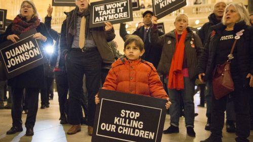 Enough is enough.(Reuters/ Elizabeth Shafiroff)