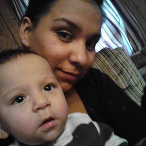 Sarah Lee Circle Bear, above, was pregnant with her third child when she died in police custody last month, her family says.