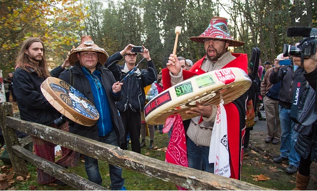 The treaty the government is pushing would relieve the federal government of its legal responsibility to people still suffering from generations of colonization, violence and poverty. Photograph: Mark Klotz/Flickr