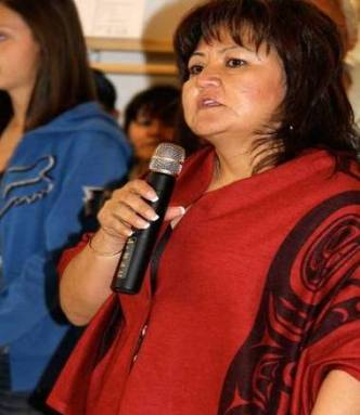 Wet'suwet'en First Nation Chief Karen Ogen.