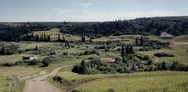 CYPRESS HILLS MASSACRE SITE near Fort Walsh SK