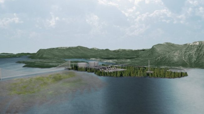 Pacific NorthWest LNG's marine terminal (Credit: Pacific Northwest LNG via Facebook)