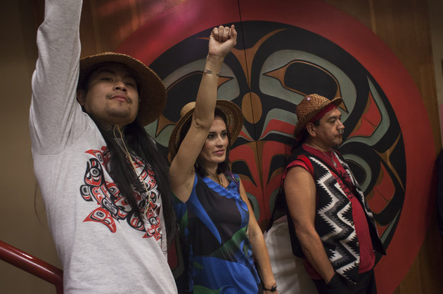 DAVID RYDER VIA GETTY IMAGES Seattle Council Member Kshama Sawant says that Indigenous Peoples' Day is intended to highlight the ways that the indigenous community continues to be marginalized.