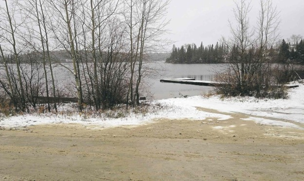 SUPPLIED PHOTO A 26-year-old St. Theresa Point First Nation woman said she was grabbed while walking on the shoreline. RCMP would not confirm or deny the allegation.