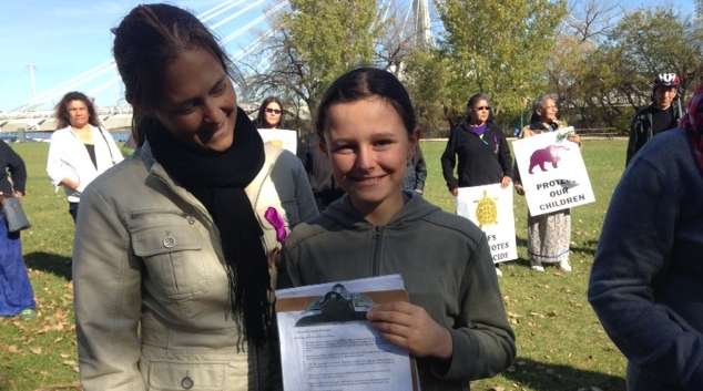 11-year-old Tait Palsson started a petition for children's rights which he is taking to the provincial government