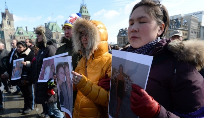 A vigil was held on Parliament Hill in Ottawa on March 5, 2014, for Loretta Saunders and to call for a national inquiry into missing and murdered aboriginal women. A full public inquiry should be among Justin Trudeau's first acts as prime minister.