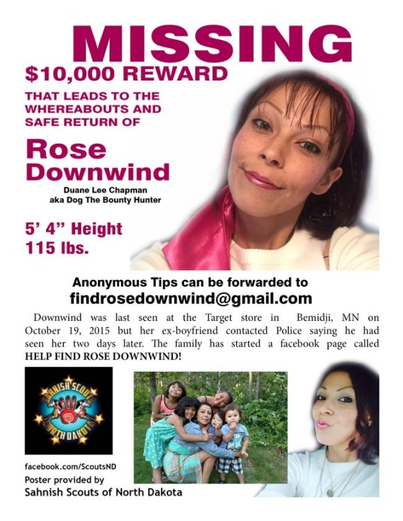 Missing Rose Downwind
