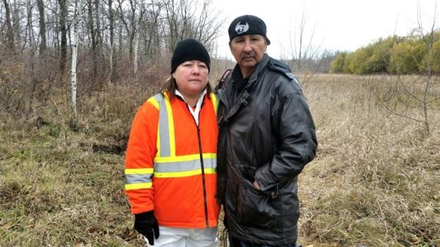 Bernice Catcheway (Jennifer's mother) & Wilfred Catcheway (Jennifer's father) Photo: www.portageonline.com