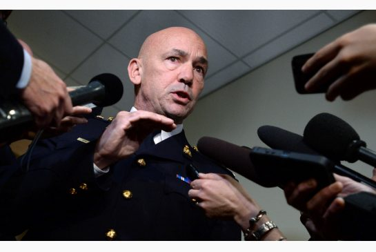 "RCMP Commissioner Bob Paulson seems not to realize that Indigenous mistrust of policing in Canada is not based on a few ""racists,"" but on ongoing systemic racism, write Julie Kaye and Beverly Jacobs. SEAN KILPATRICK / THE CANADIAN PRESS"