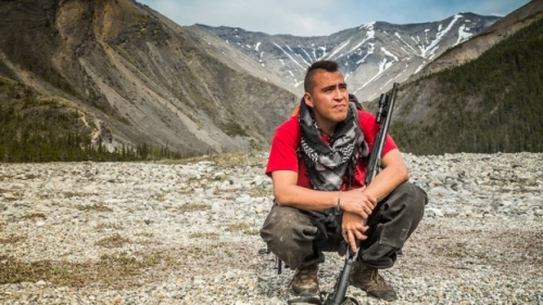 Armed with a law degree, Caleb Behn is emerging as one of the fiercest defenders of Dene territory against the fracking industry. (Two Island Films)