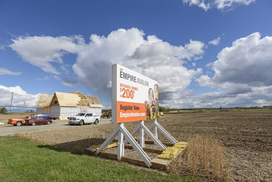 Hamilton Spectator file photo Members of The Haudenosaunee Confederacy want a developer to consult with them on the construction of a massive 3,500 home development on the northern outskirts of Caledonia.
