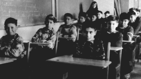 The federal government has located thousands of people accused of physically and sexually abusing students at Canada's Indian residential schools. (Edmund Metatawabin collection/Algoma University)