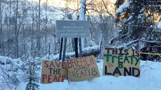 FILE: Site C Protest
